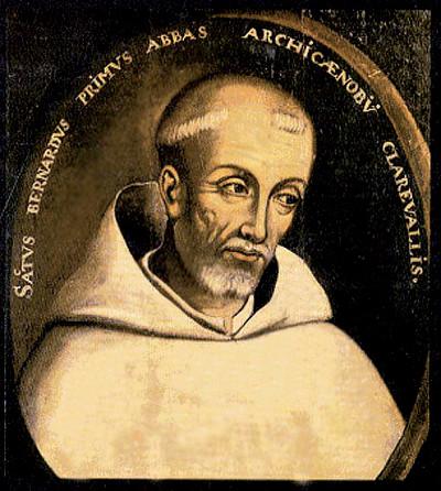 Znalezione obrazy dla zapytania Św. Bernard z Clairvaux