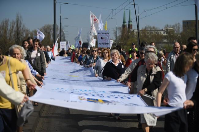 XII Marsz Świętości Życia w Warszawie