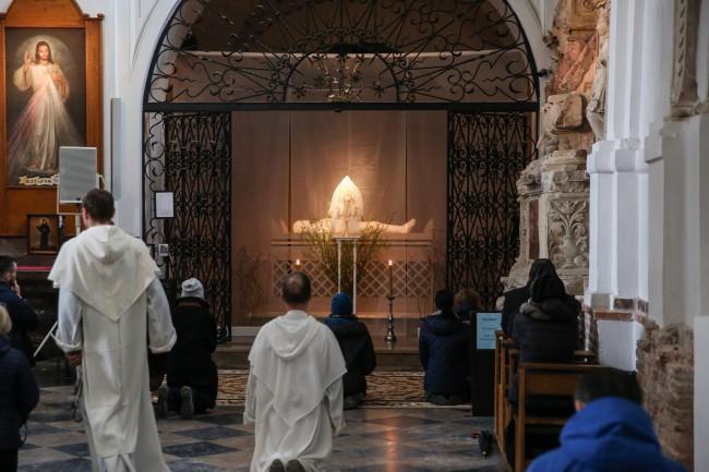 Grób Pański w kościele św. Jacka oo. dominikanów przy ul. Freta