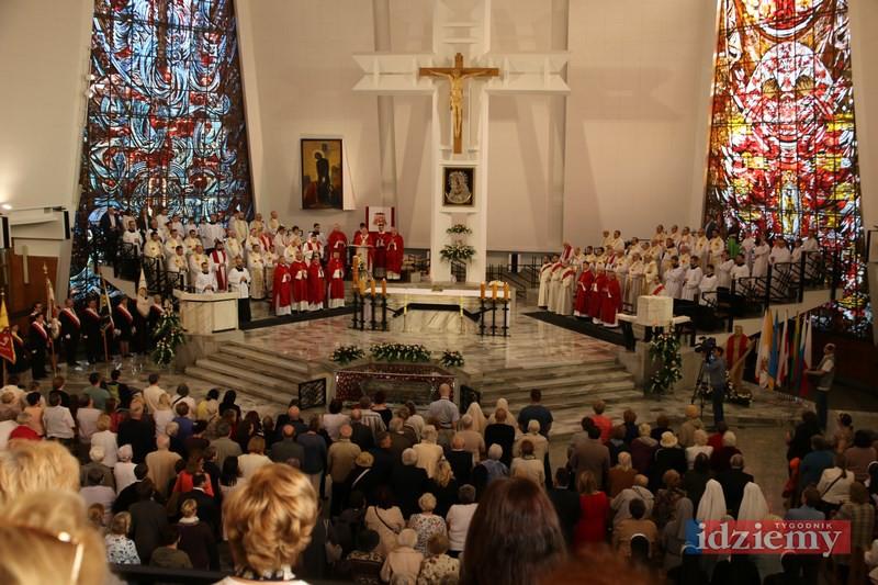 Uroczystość św. Andrzeja Boboli w sanktuarium na Rakowieckiej - 16 maja 2017