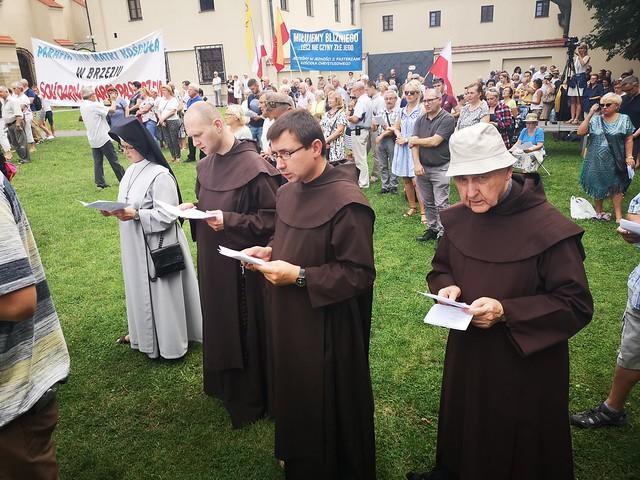 Modlitwa za Ojczyznę, Kościół i Abpa Marka Jędraszewskiego